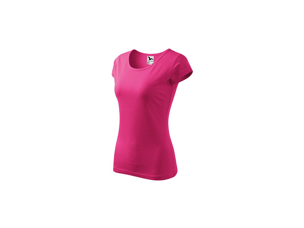 Pure tričko dámské purpurová