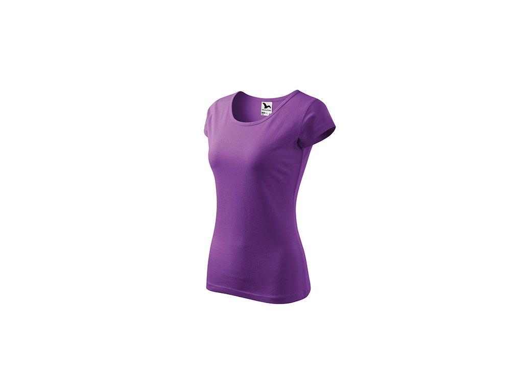 Pure tričko dámské fialová
