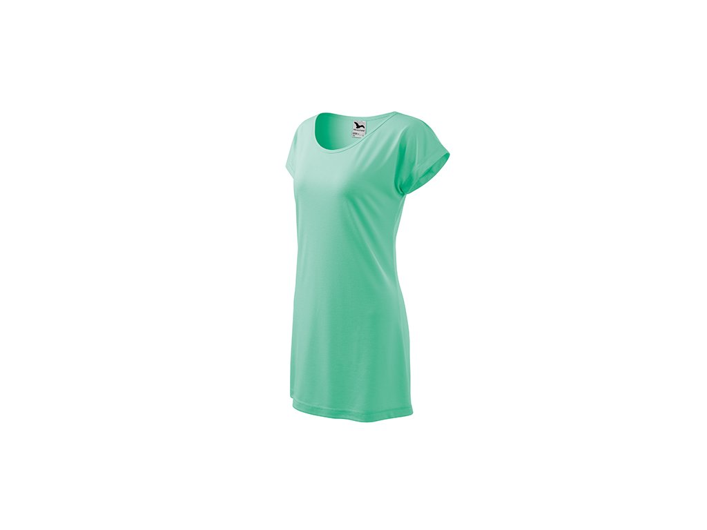 Love tričko/šaty dámské mátová