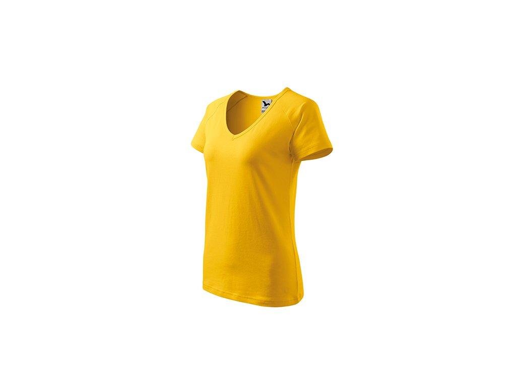 Dream tričko dámské žlutá