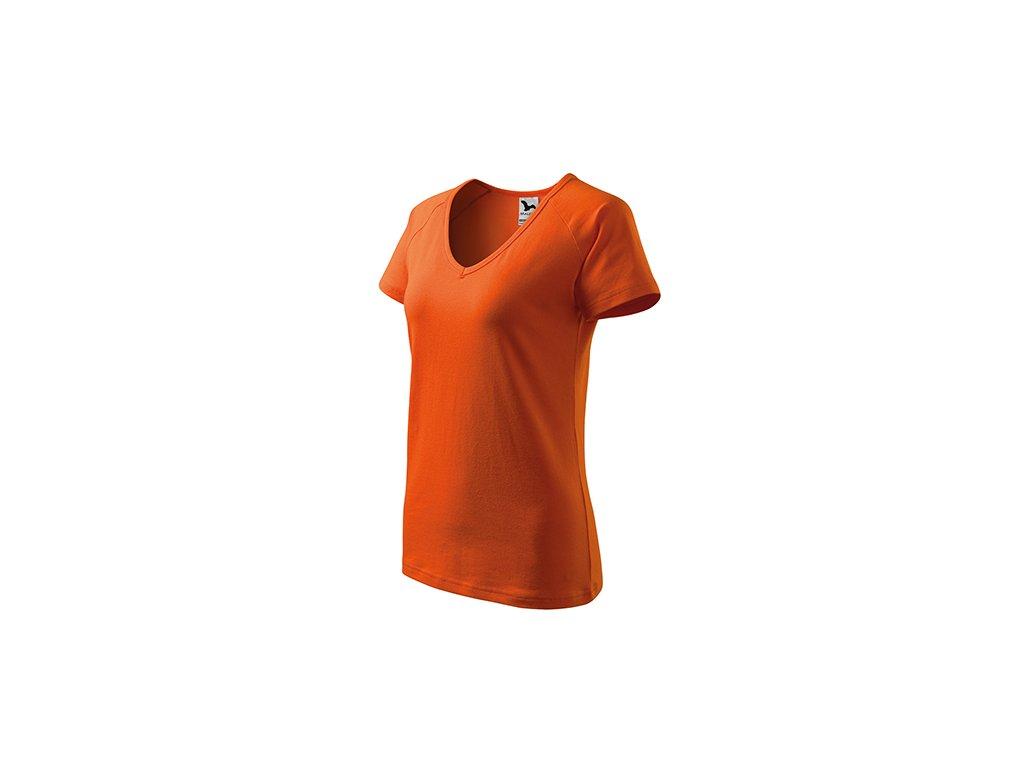 Dream tričko dámské oranžová