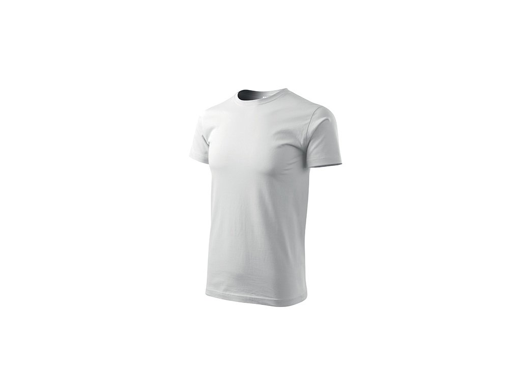 Basic tričko pánské bílá