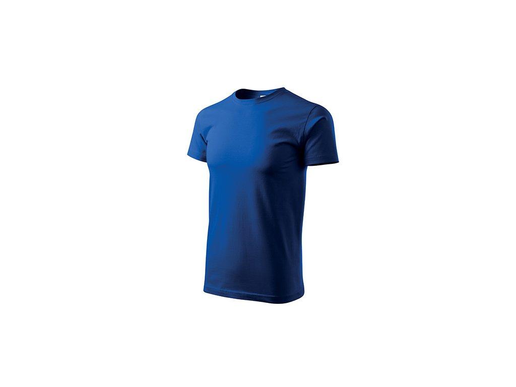 Basic tričko pánské královská modrá