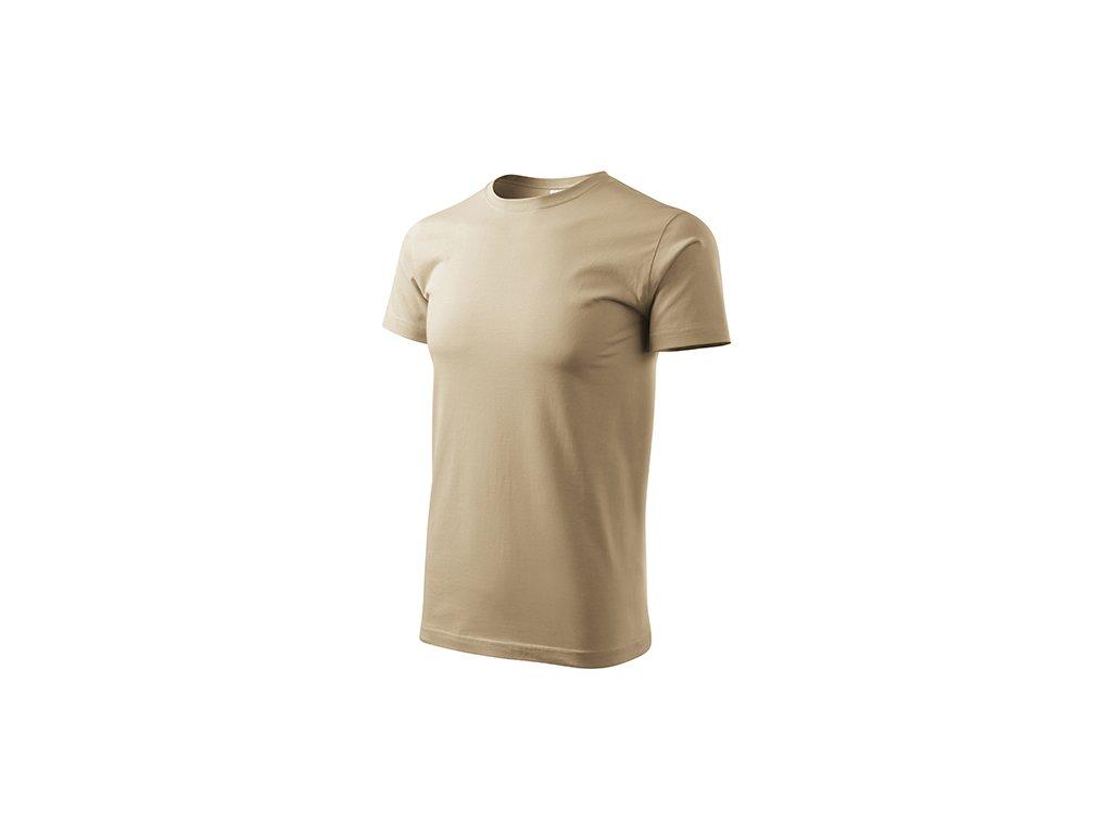 Basic tričko pánské písková