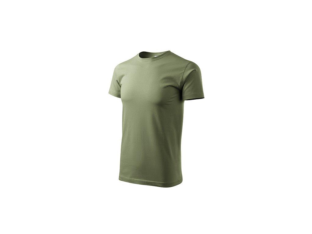Basic tričko pánské khaki
