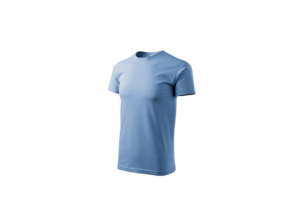 Basic tričko pánské nebesky modrá