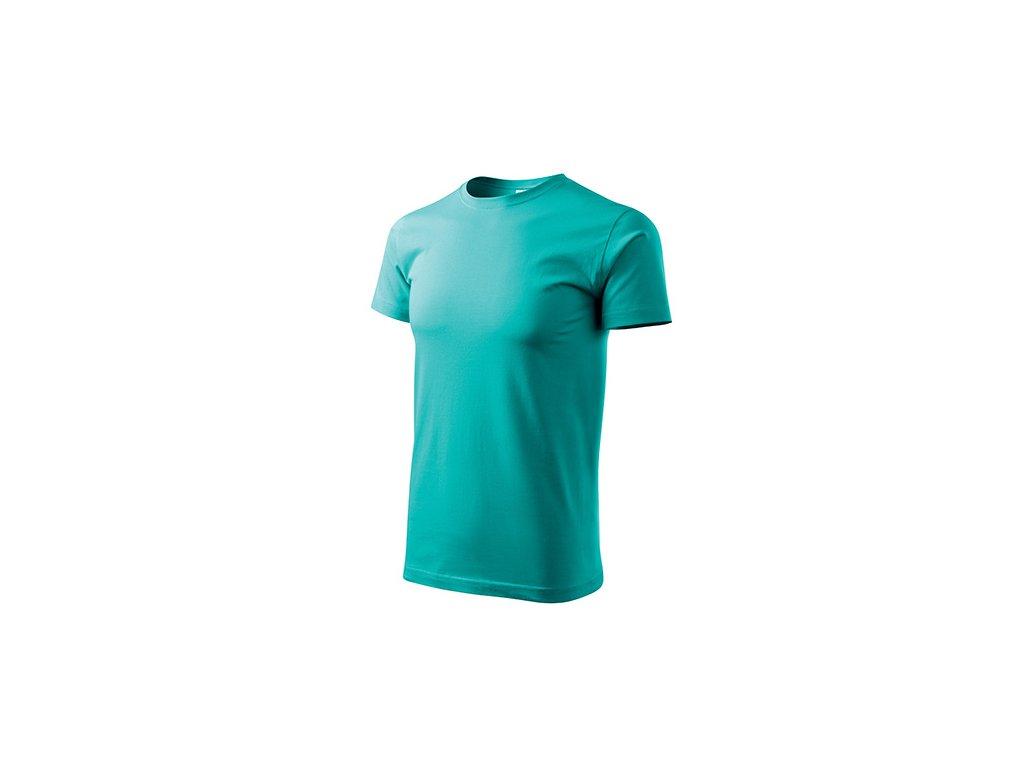 Basic tričko pánské emerald