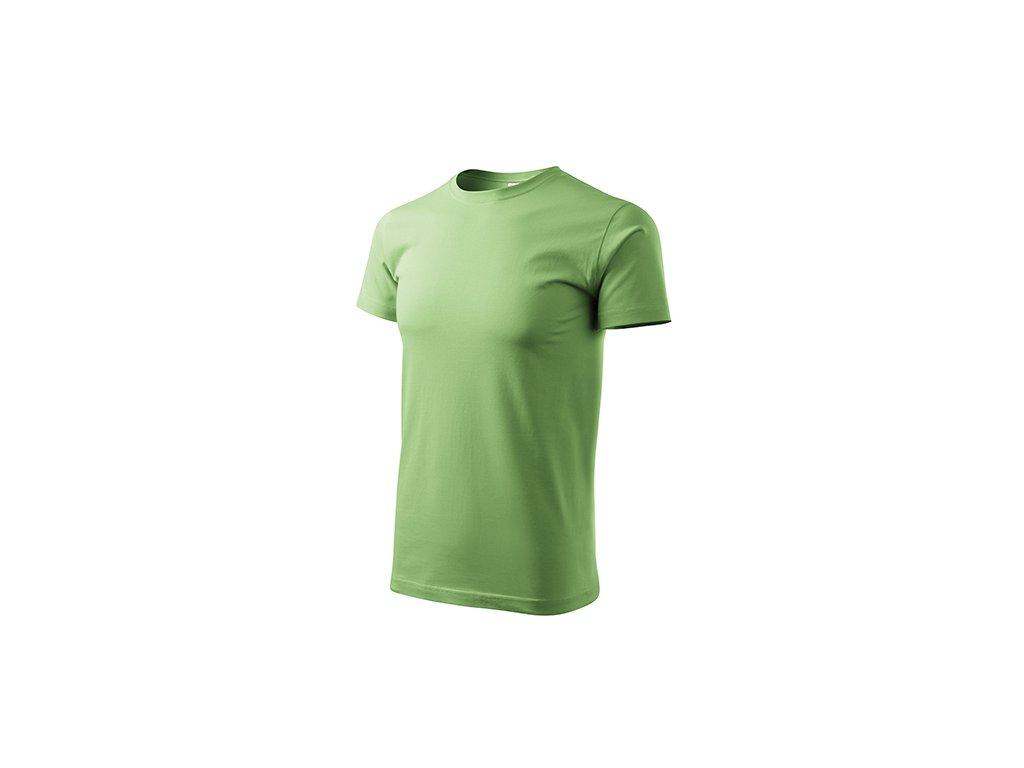 Basic tričko pánské trávově zelená