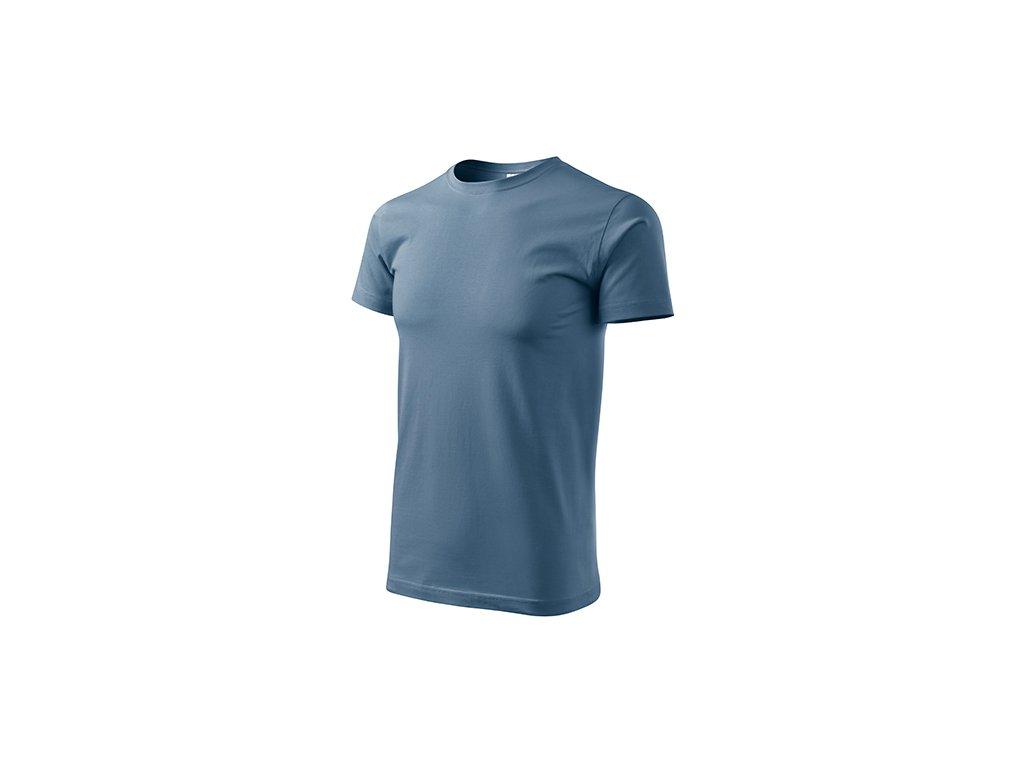 Basic tričko pánské denim