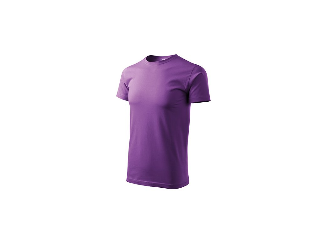 Basic tričko pánské fialová