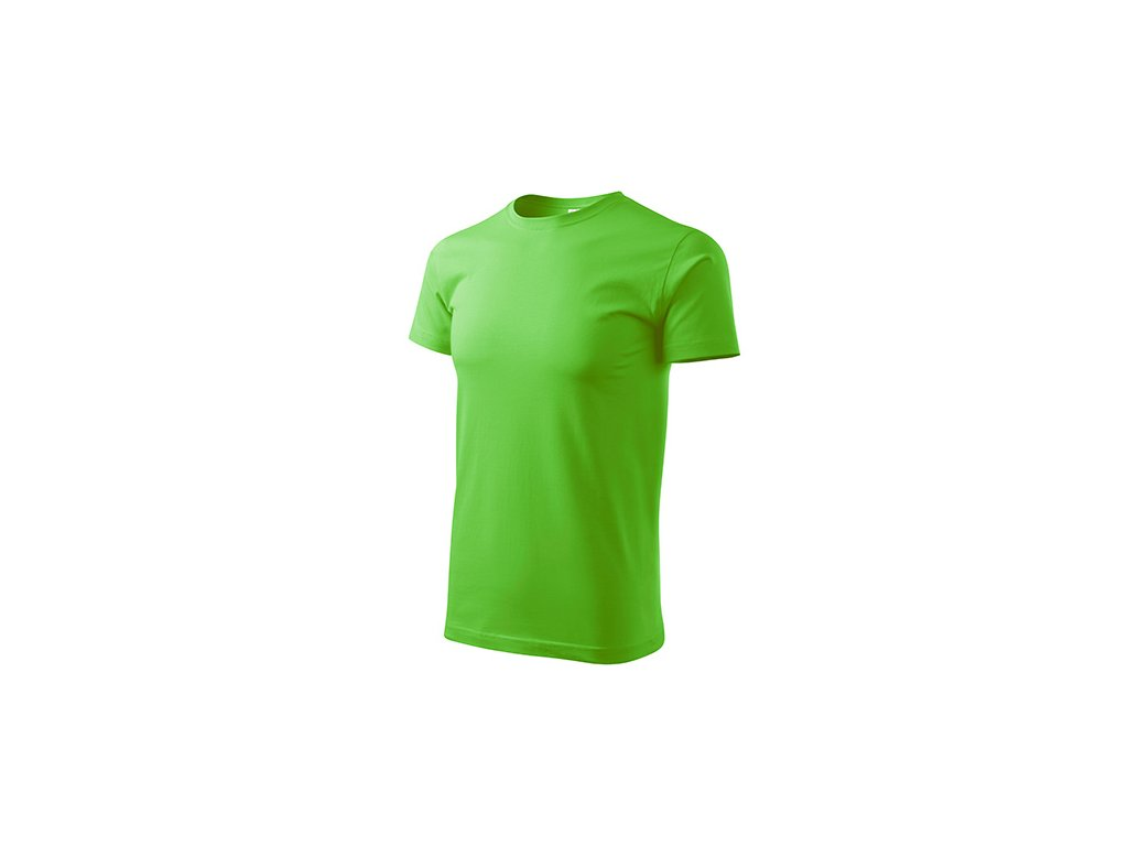 Basic tričko pánské apple green