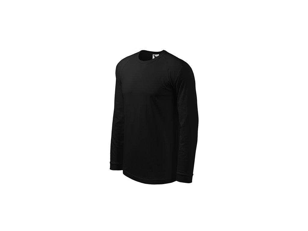 Street LS triko pánské černá