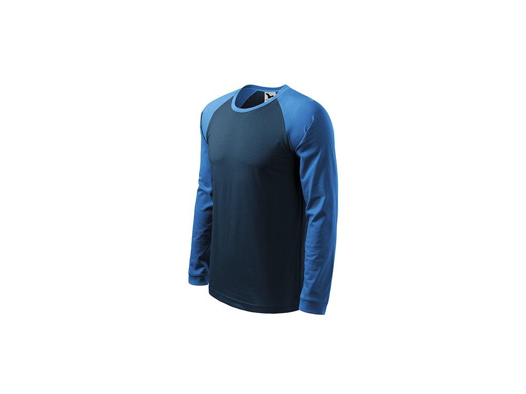 Street LS triko pánské námořní modrá