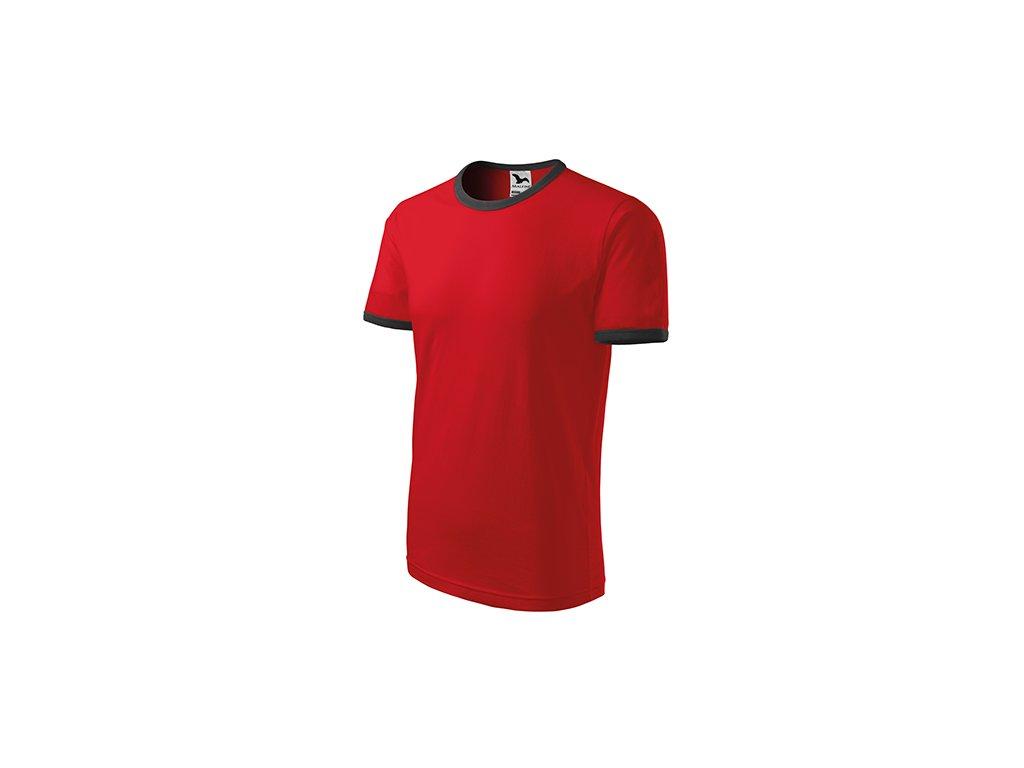Infinity tričko unisex červená