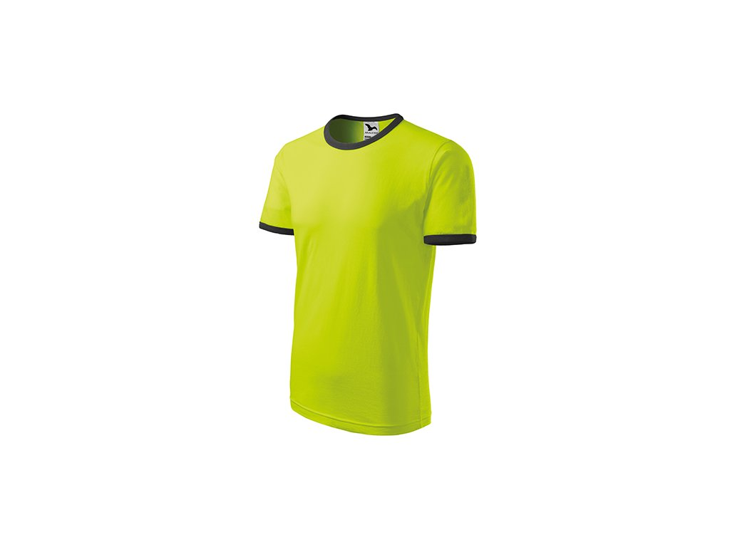 Infinity tričko unisex limetková