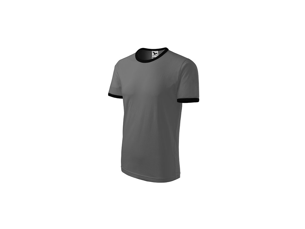 Infinity tričko unisex tmavá břidlice