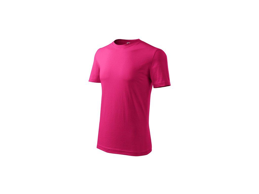 Classic New tričko pánské purpurová