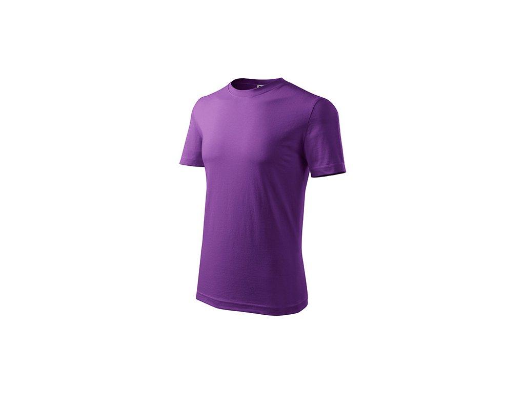 Classic New tričko pánské fialová