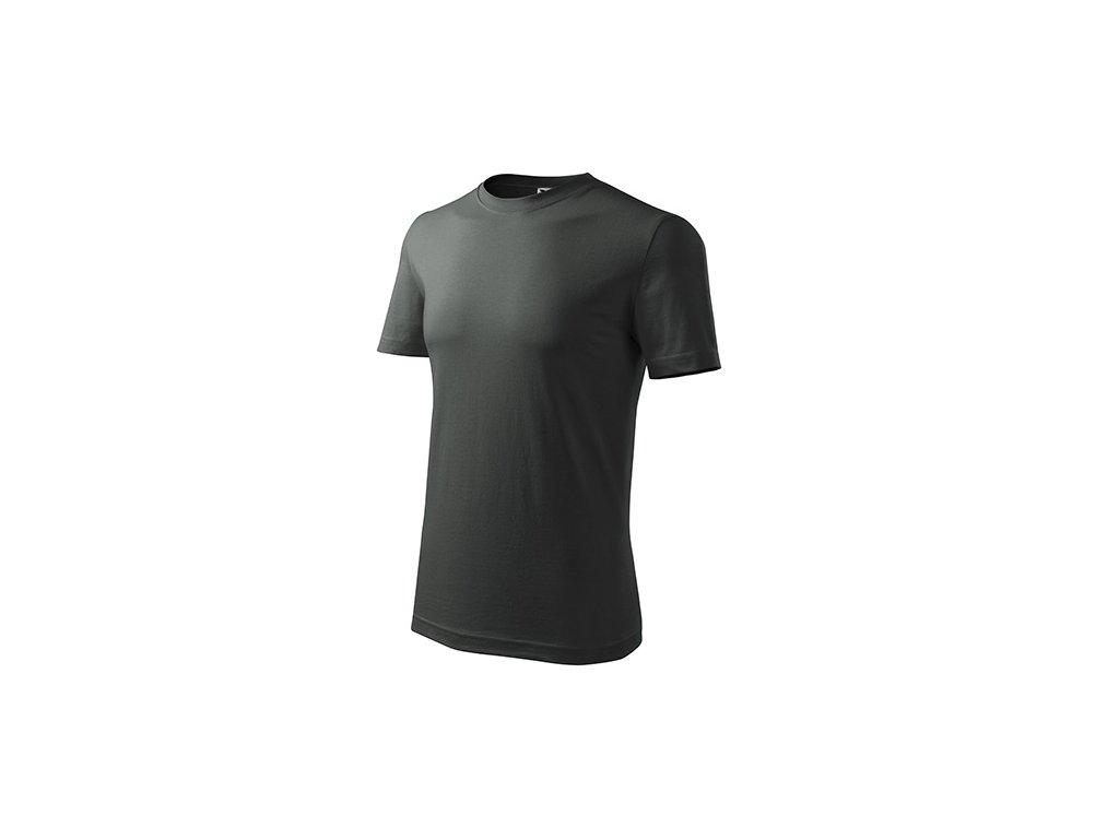 Classic New tričko pánské tmavá břidlice