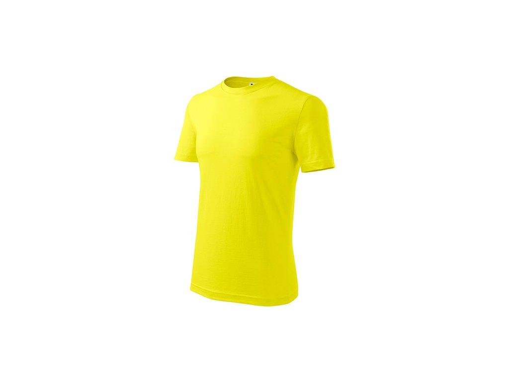 Classic New tričko pánské citronová