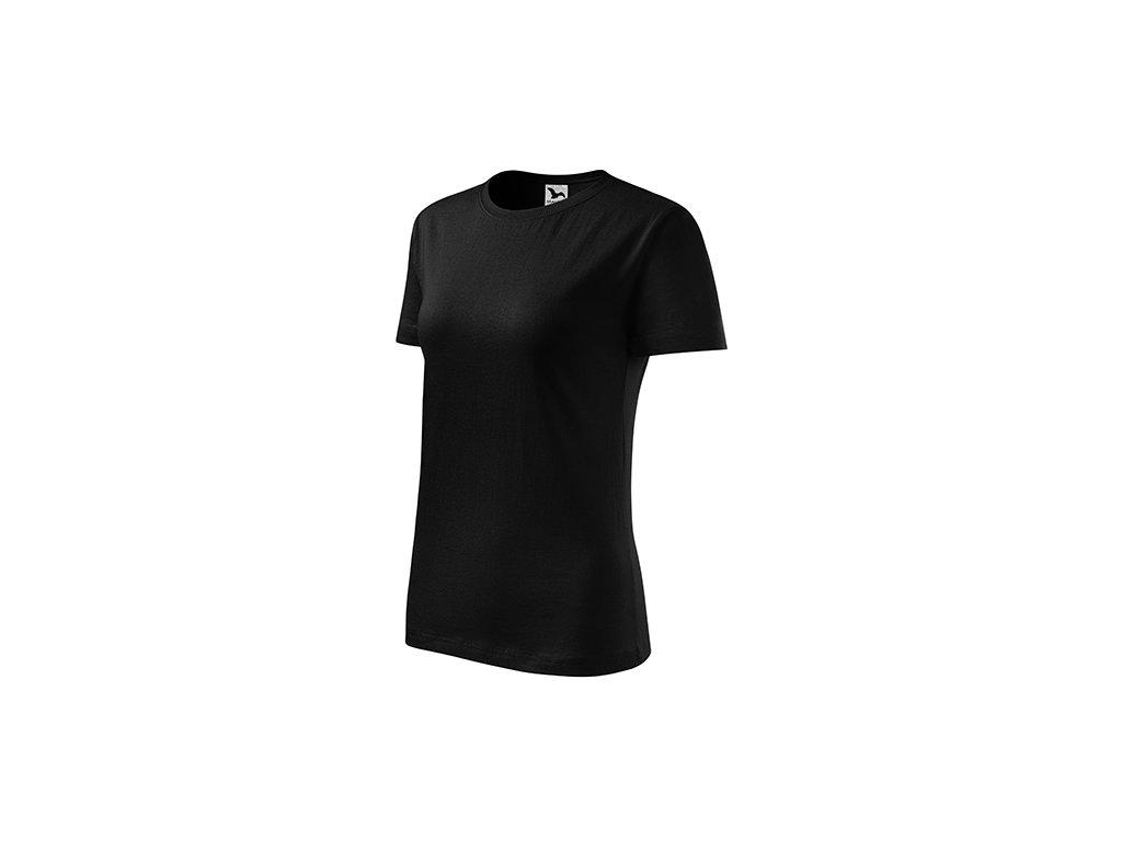 Classic New tričko dámské černá