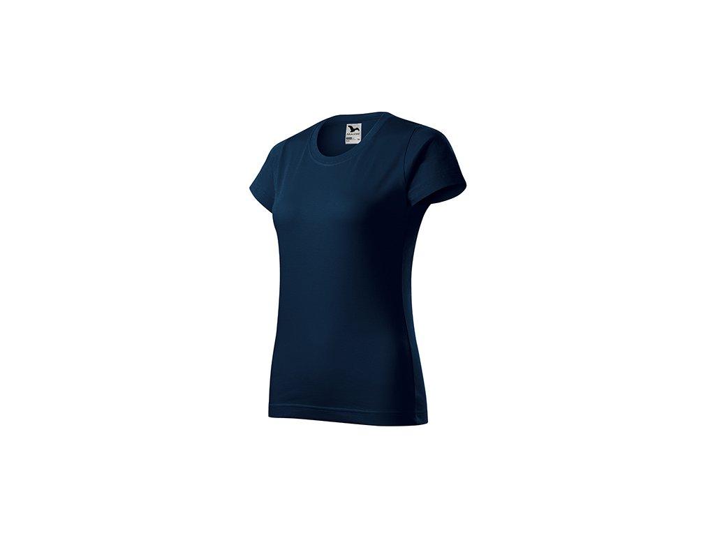 Basic tričko dámské námořní modrá