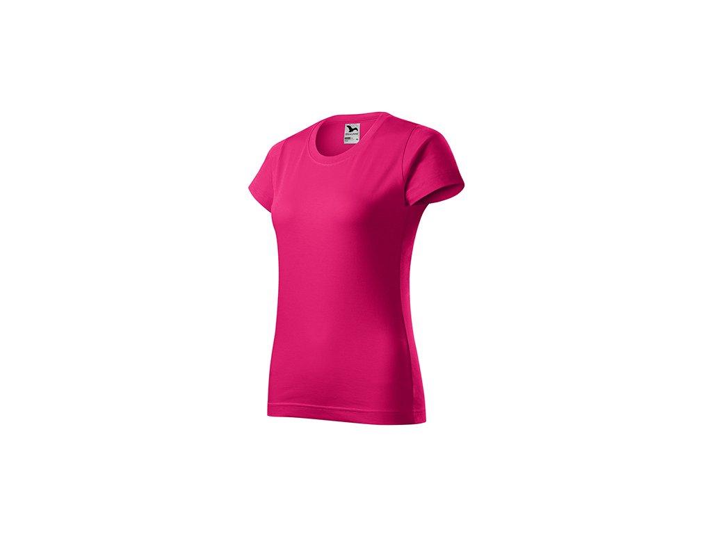 Basic tričko dámské malinová