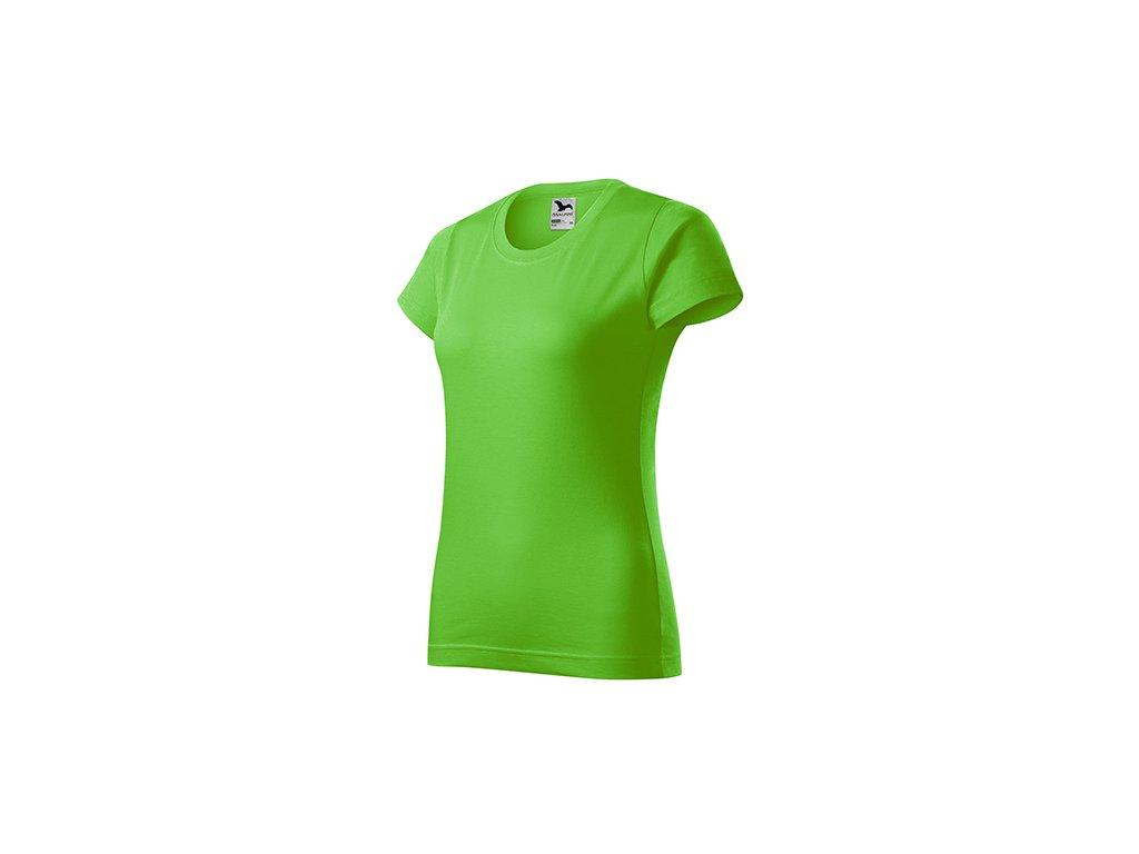 Basic tričko dámské apple green