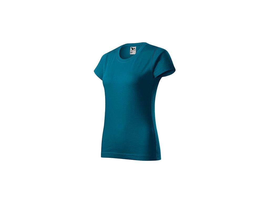 Basic tričko dámské petrolejová