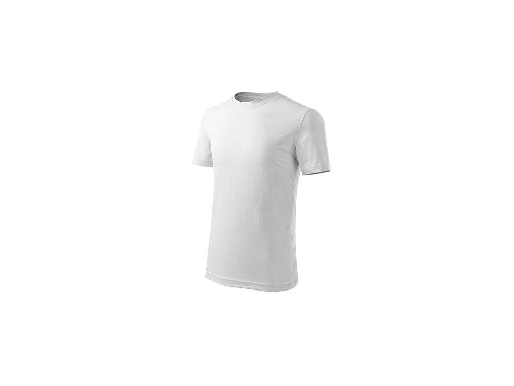 Classic New tričko dětské bílá