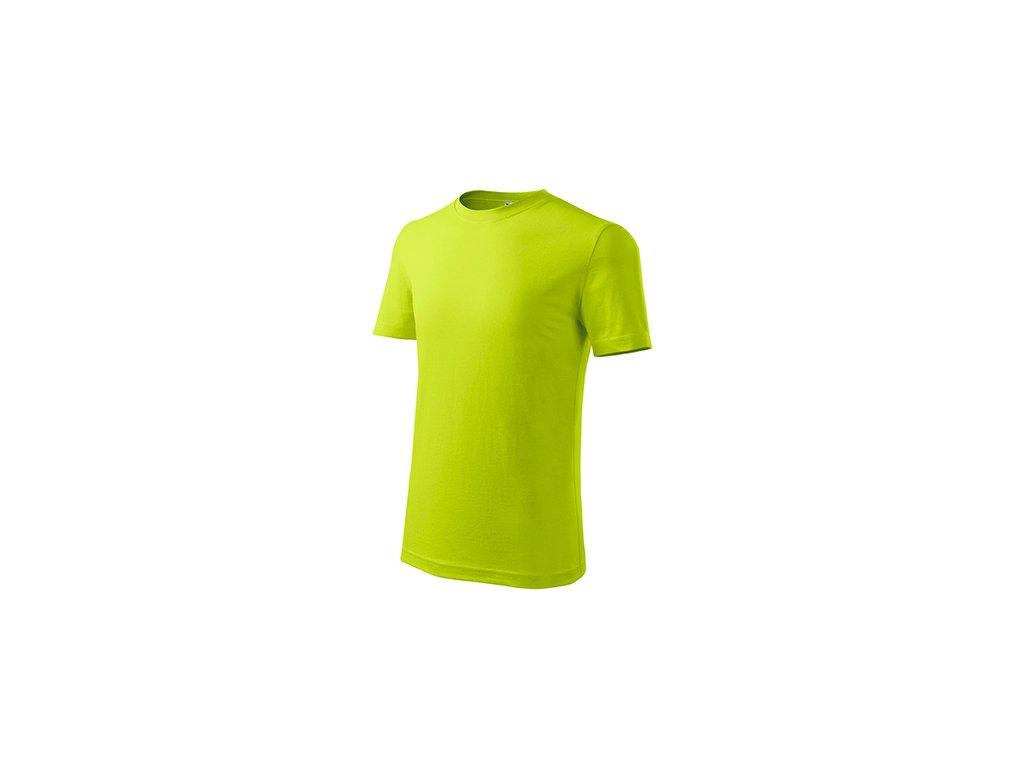 Classic New tričko dětské limetková