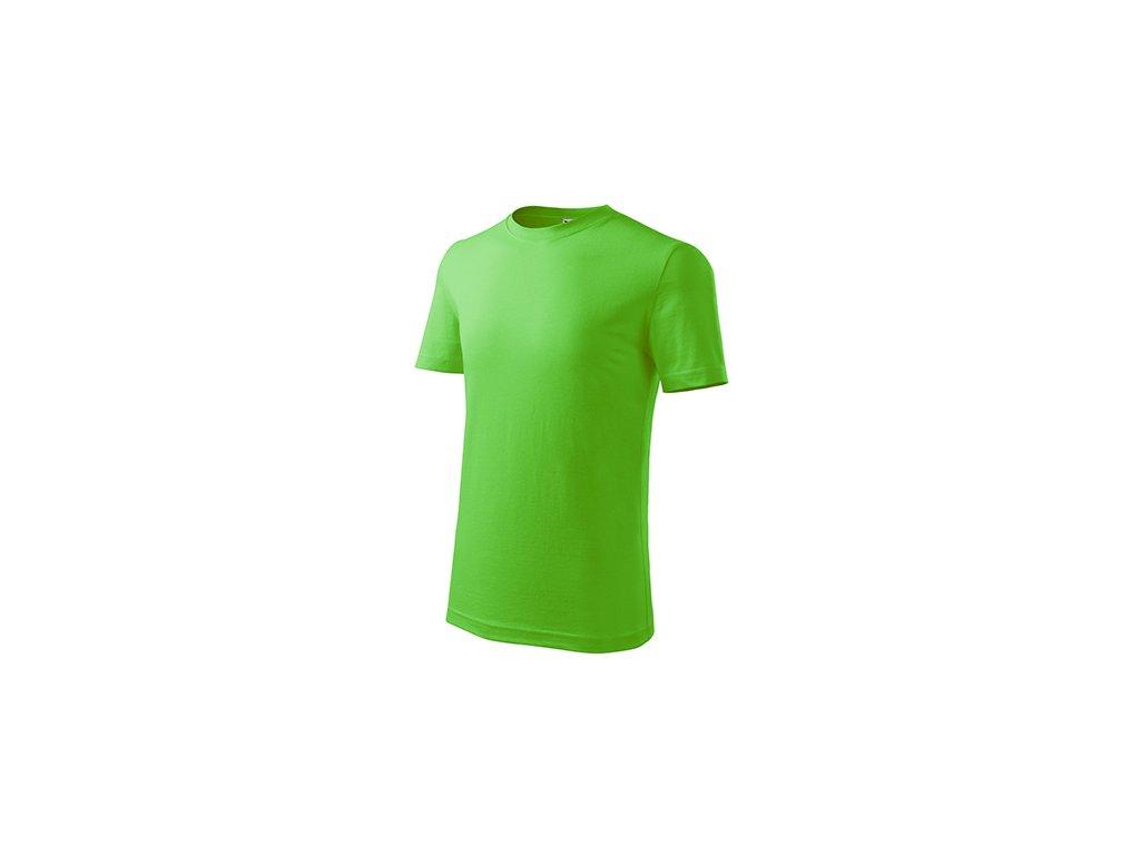 Classic New tričko dětské apple green