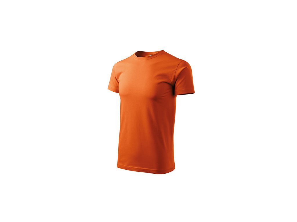 Heavy New tričko unisex oranžová