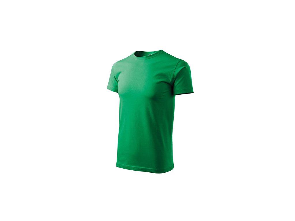 Heavy New tričko unisex středně zelená