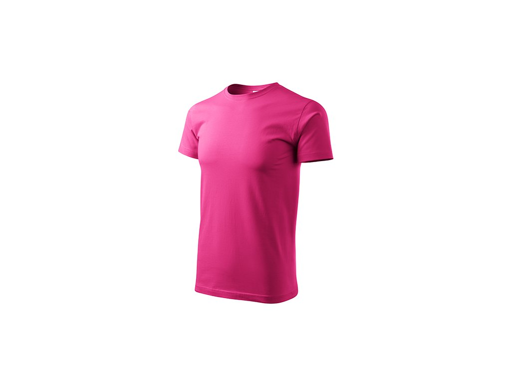 Heavy New tričko unisex purpurová