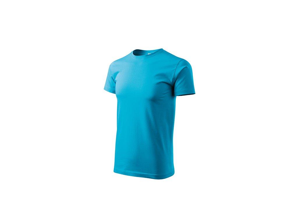 Heavy New tričko unisex tyrkysová