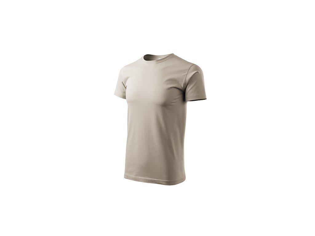 Heavy New tričko unisex ledově šedá