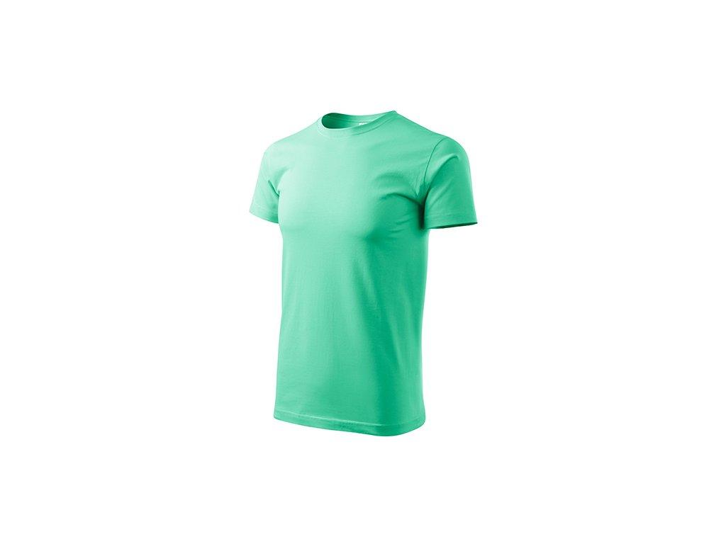 Heavy New tričko unisex mátová
