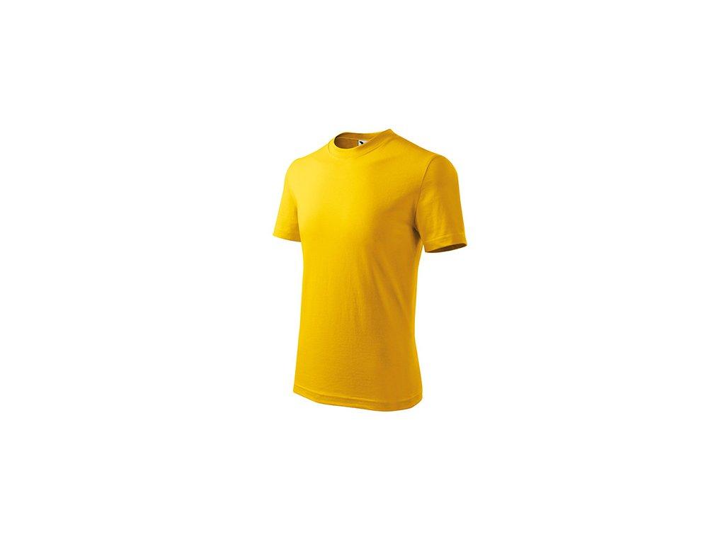 Basic tričko dětské žlutá