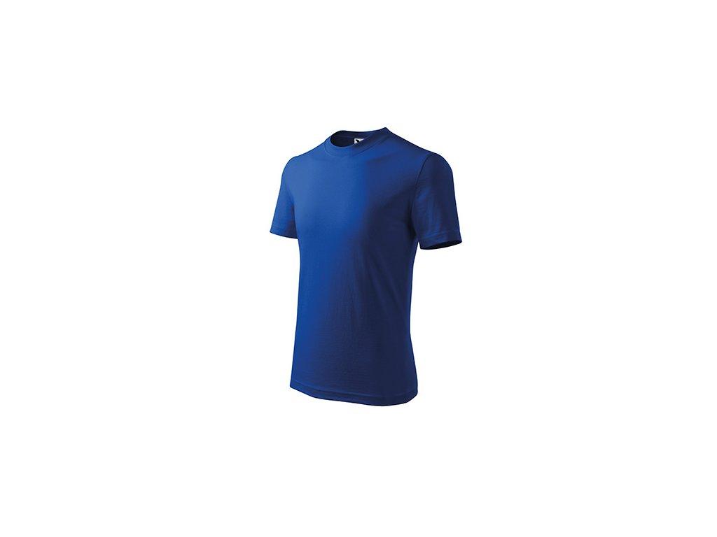 Basic tričko dětské královská modrá