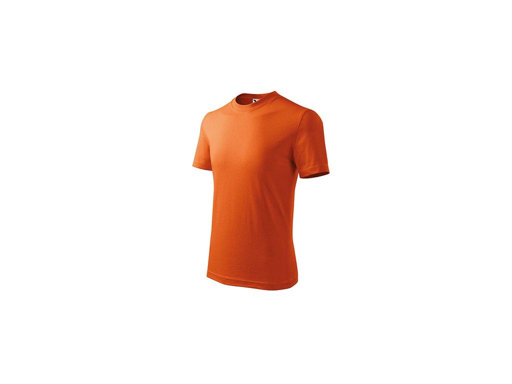 Basic tričko dětské oranžová