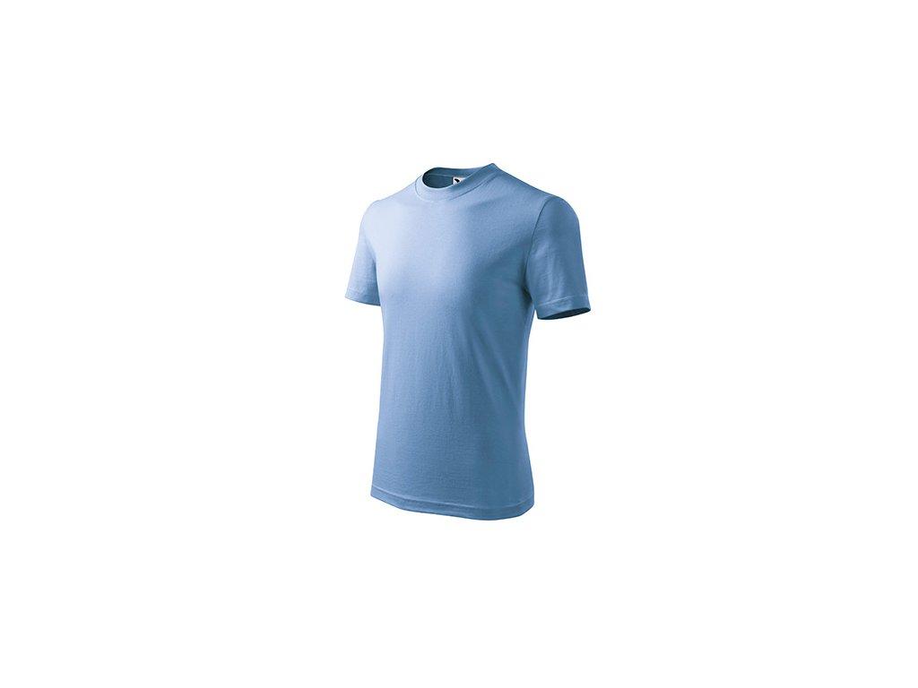Basic tričko dětské nebesky modrá