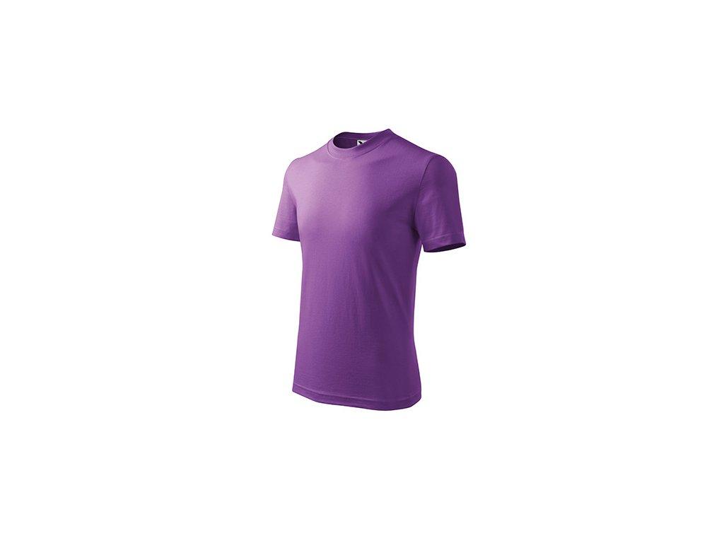 Basic tričko dětské fialová