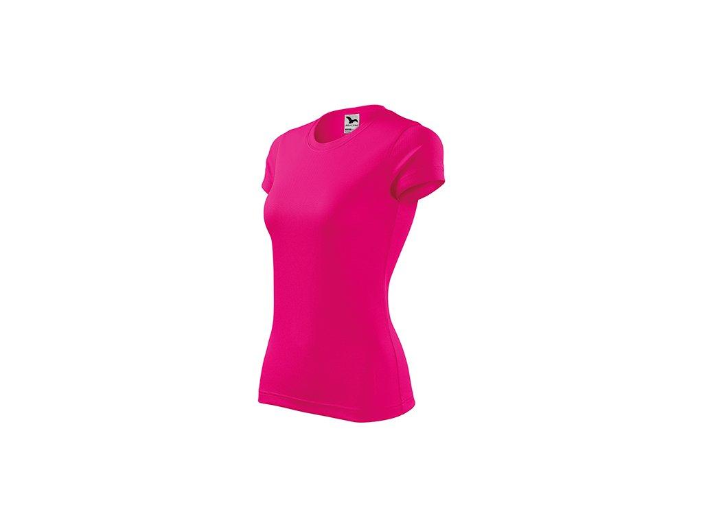 Fantasy tričko dámské neon pink