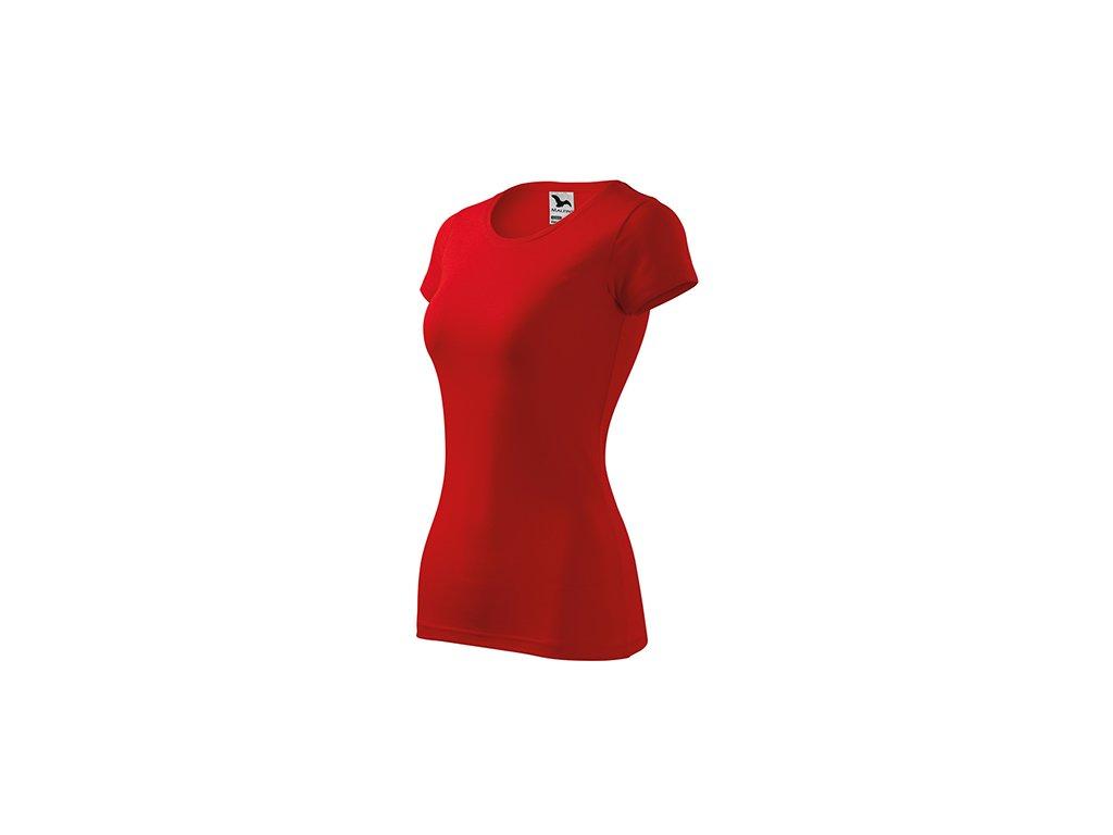 Glance tričko dámské červená