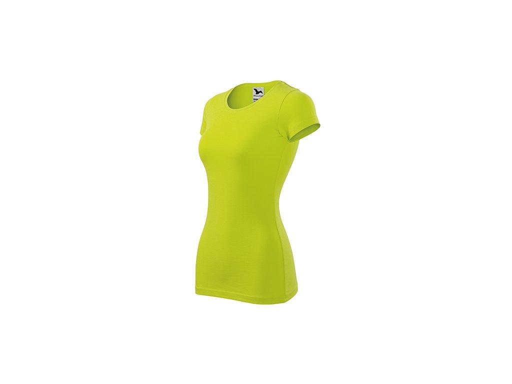 Glance tričko dámské limetková