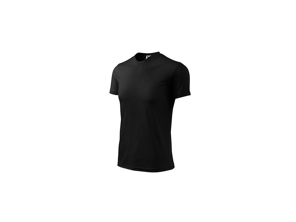 Fantasy tričko dětské černá