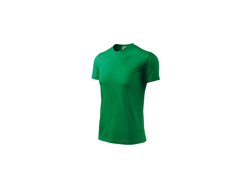 Fantasy tričko dětské středně zelená