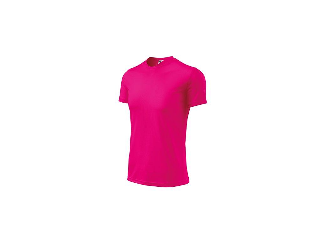 Fantasy tričko dětské neon pink
