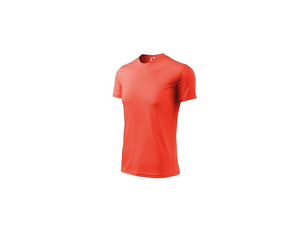Fantasy tričko dětské neon orange